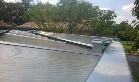 Habillage de toit en aluminiumà Toulouse