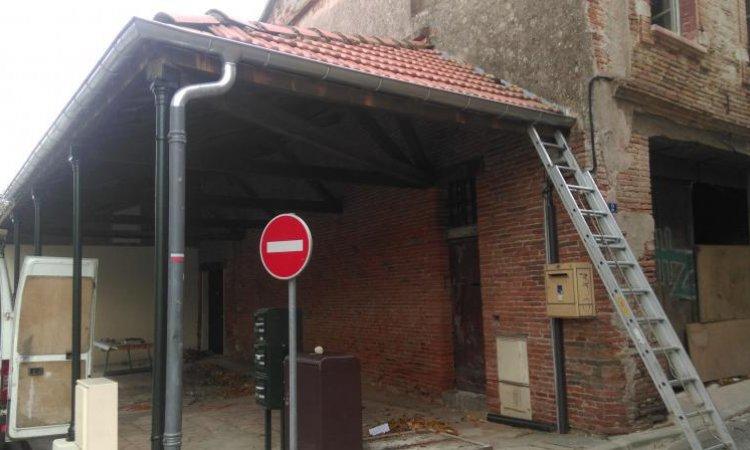 Zinguerie traditionnelleà Toulouse